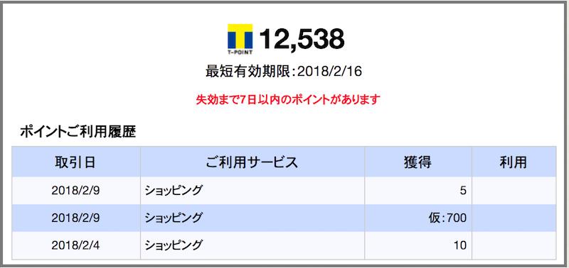 Yahoo! JAPANカード Tポイント