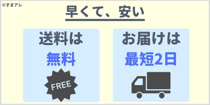 ドコモオンラインショップ 配達 何日