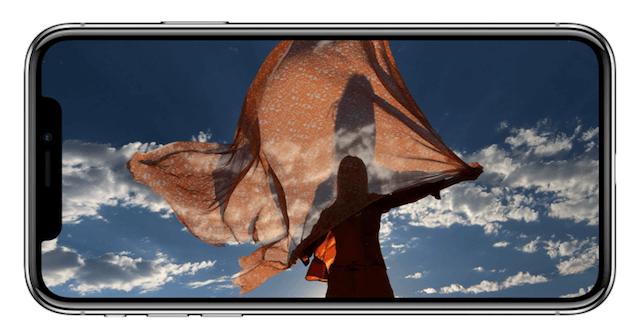 iPhoneX カメラ 特徴