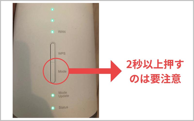 L01s Modeボタン