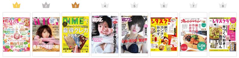 ブックパス 雑誌