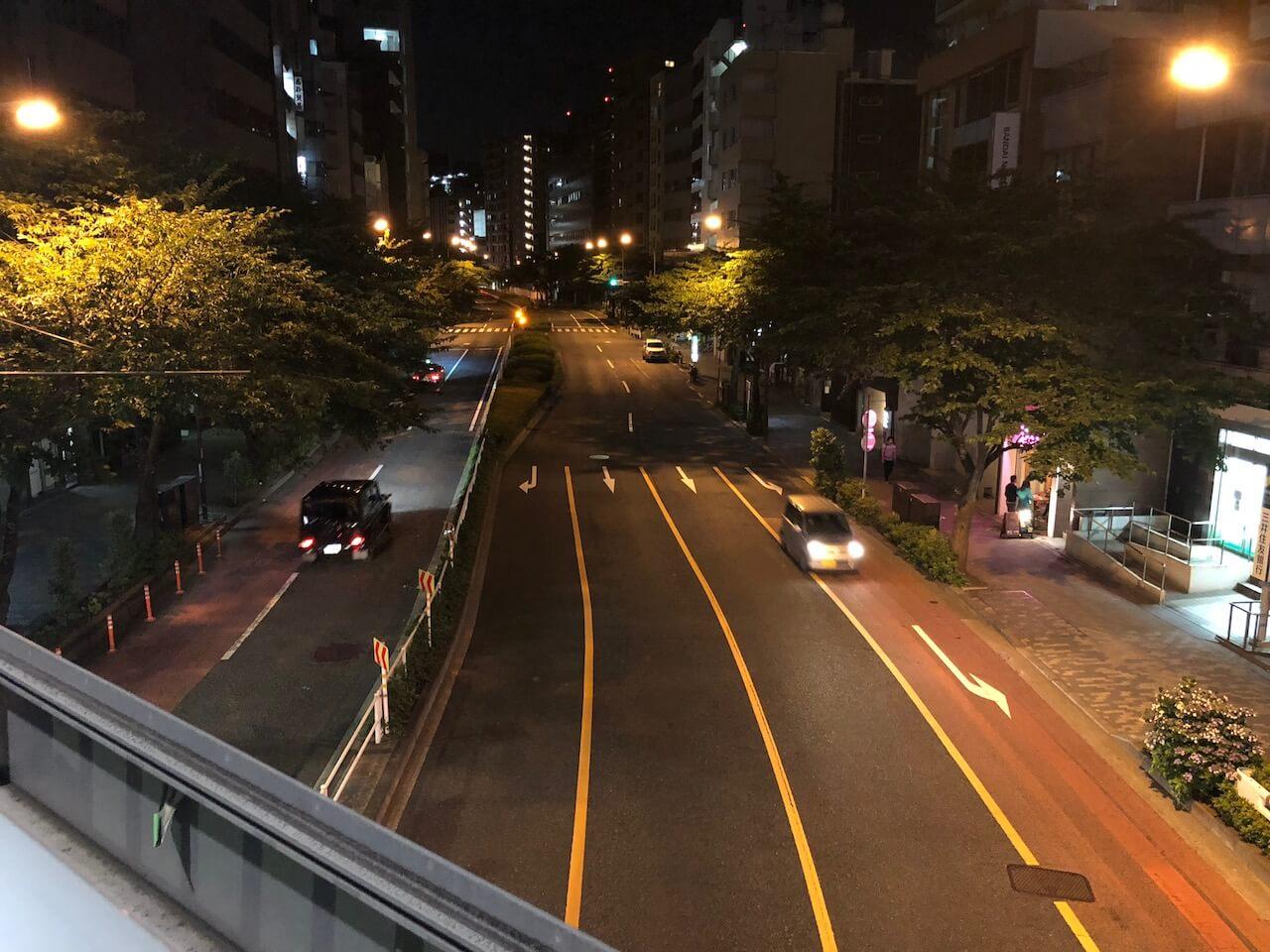 iPhone 8 夜景 カメラ