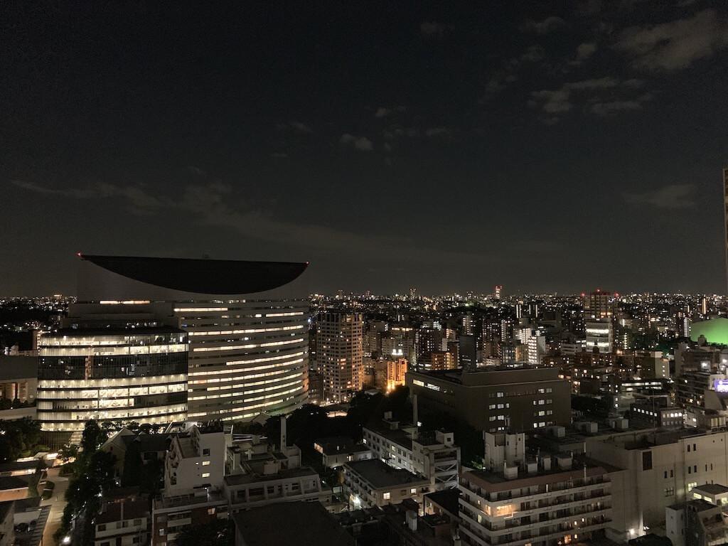 iPhone XS 夜景撮影