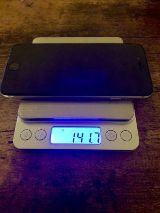 iPhone6s 重さ