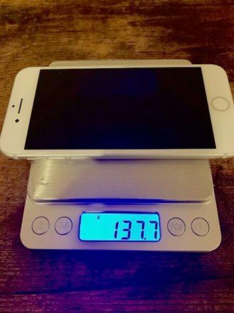 iPhone7 軽い