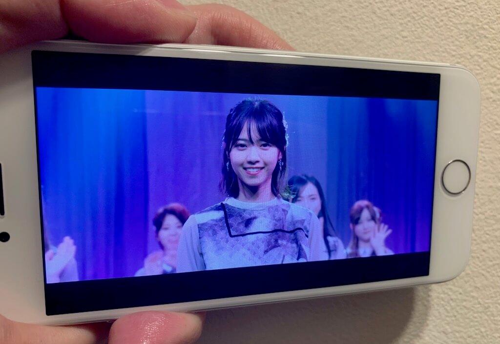 iPhone7 ディスプレイ 画質