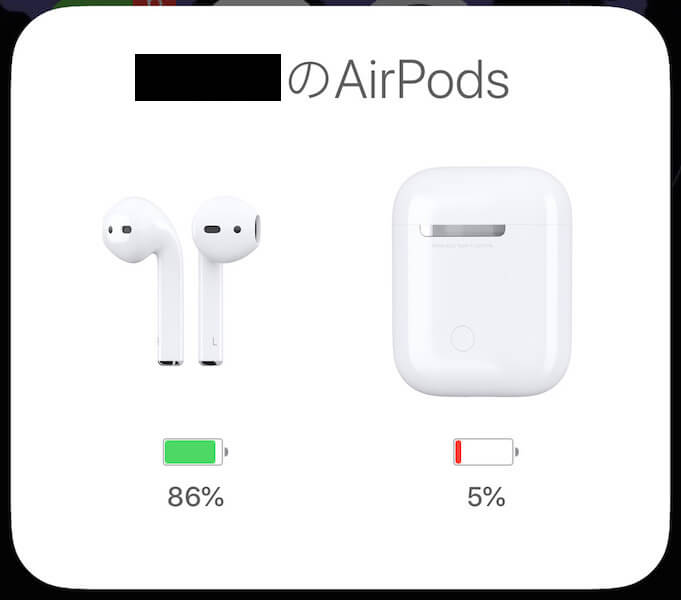 AirPods 充電