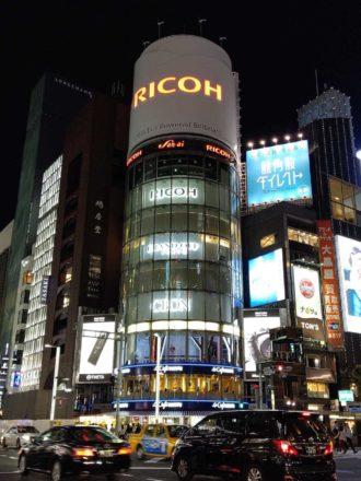 AQUOS R3 カメラ 夜景撮影