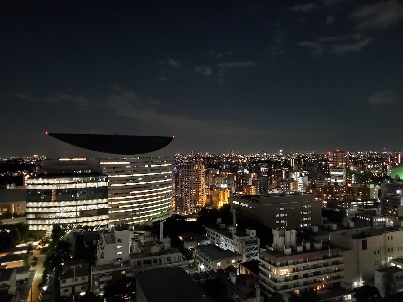 Galaxy S10 カメラ 夜空撮影