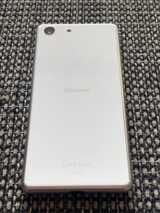 Xperia Ace デザイン 背面