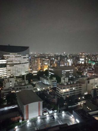 Xperia Ace カメラ 夜空