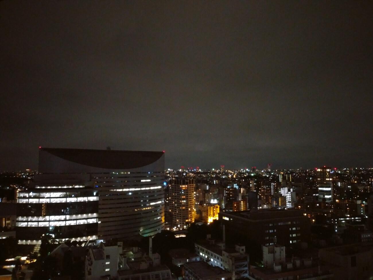LG style2 カメラ 夜景撮影