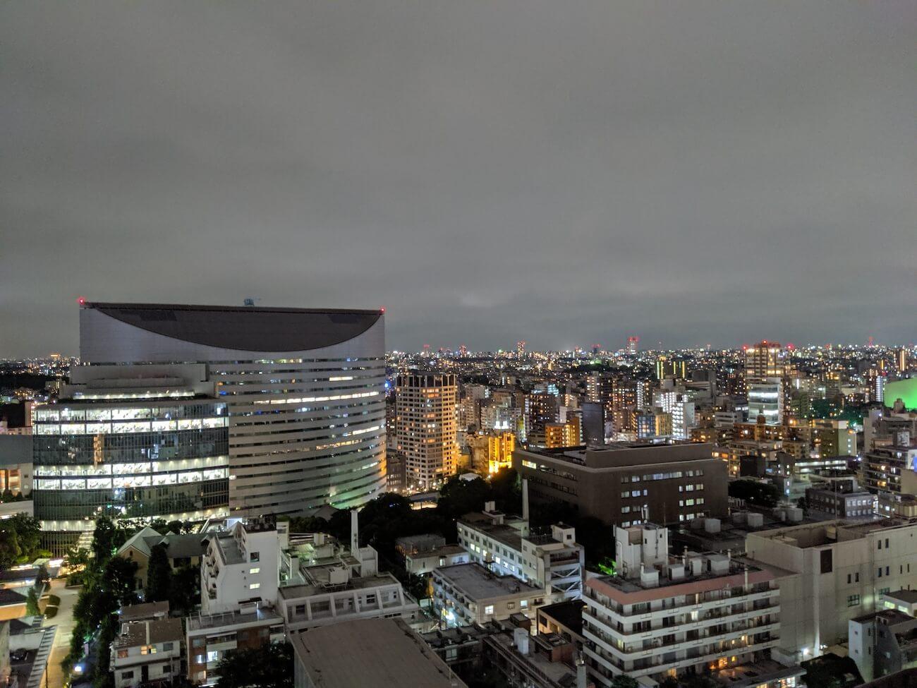 Google Pixel 3a カメラ 夜景撮影