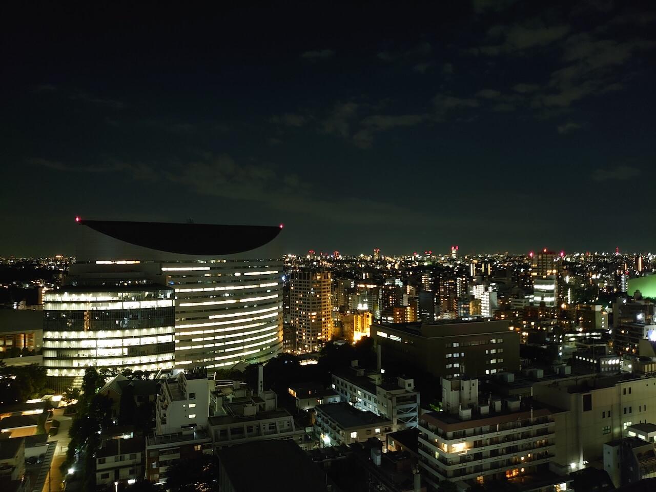 Xperia 1 カメラ性能 夜空