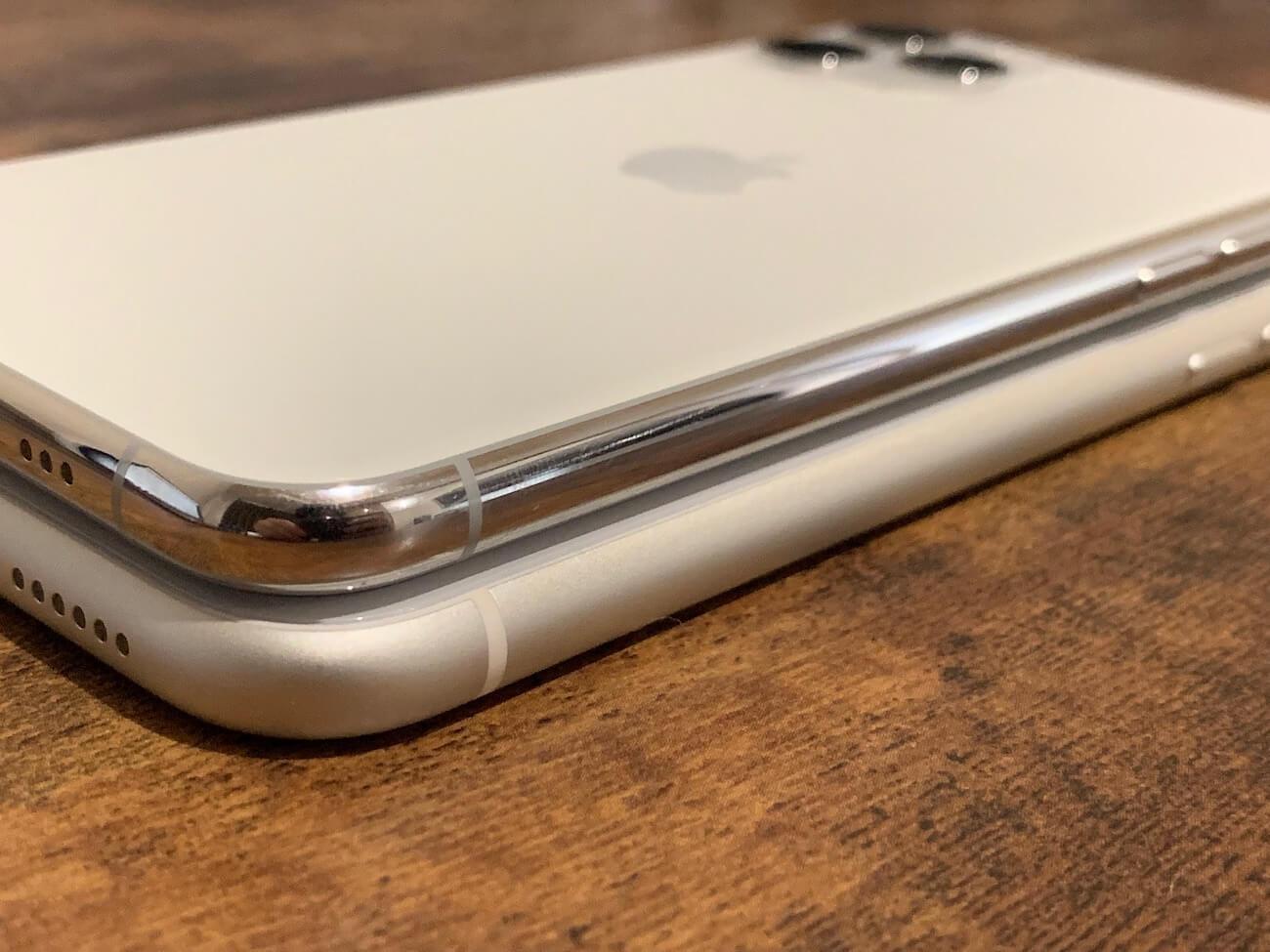 iPhone11 iPhone11 pro デザイン比較