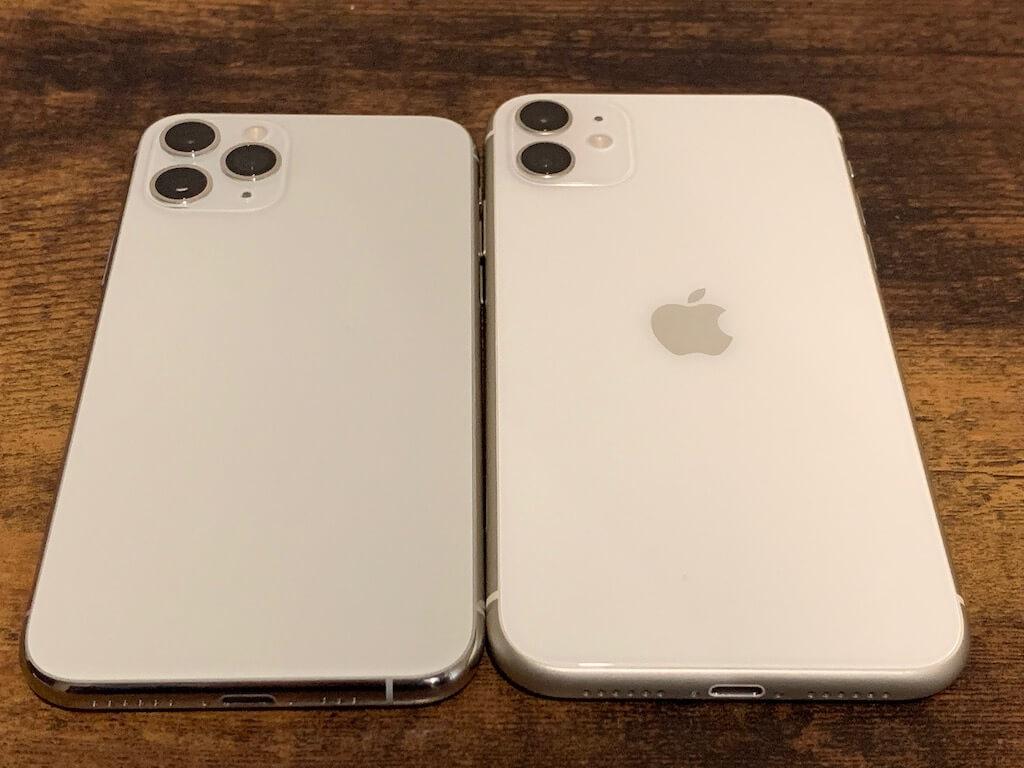 iPhone11 11pro デザイン比較