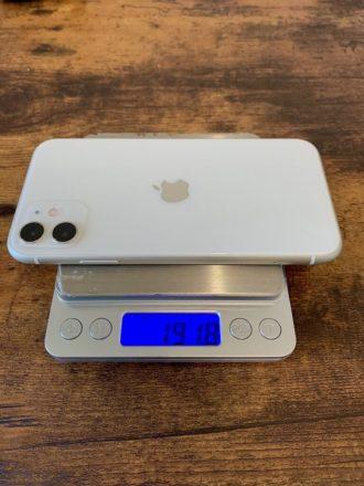 iPhone11 11pro 重さ 比較