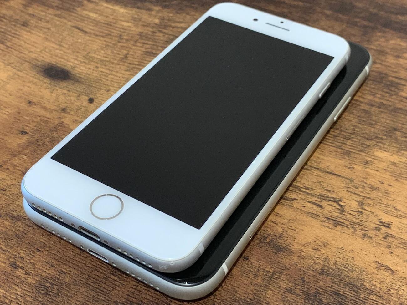 iPhone11 8 大きさ比較