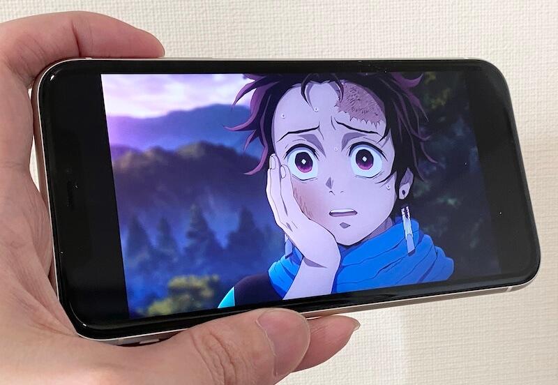 iPhone11 画面の画質