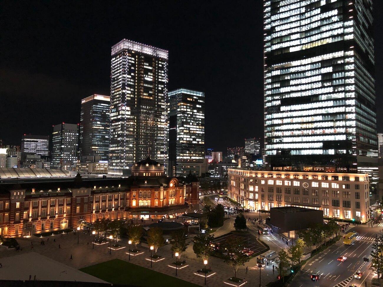Xperia 5 夜景撮影