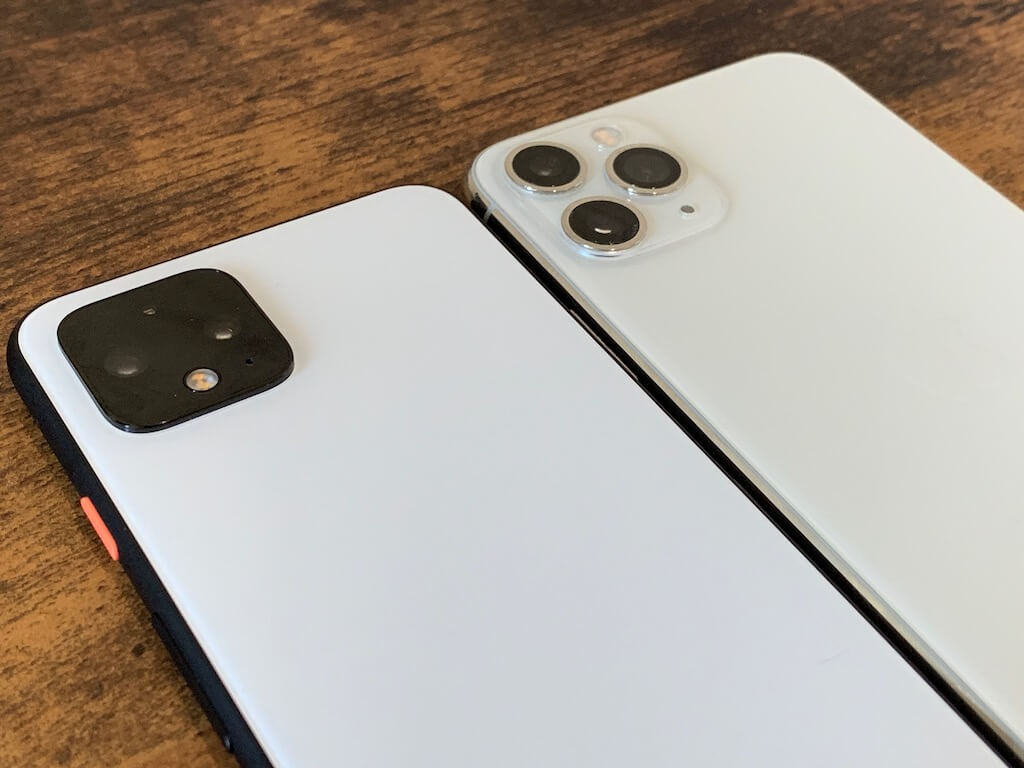 pixel4 iPhone11