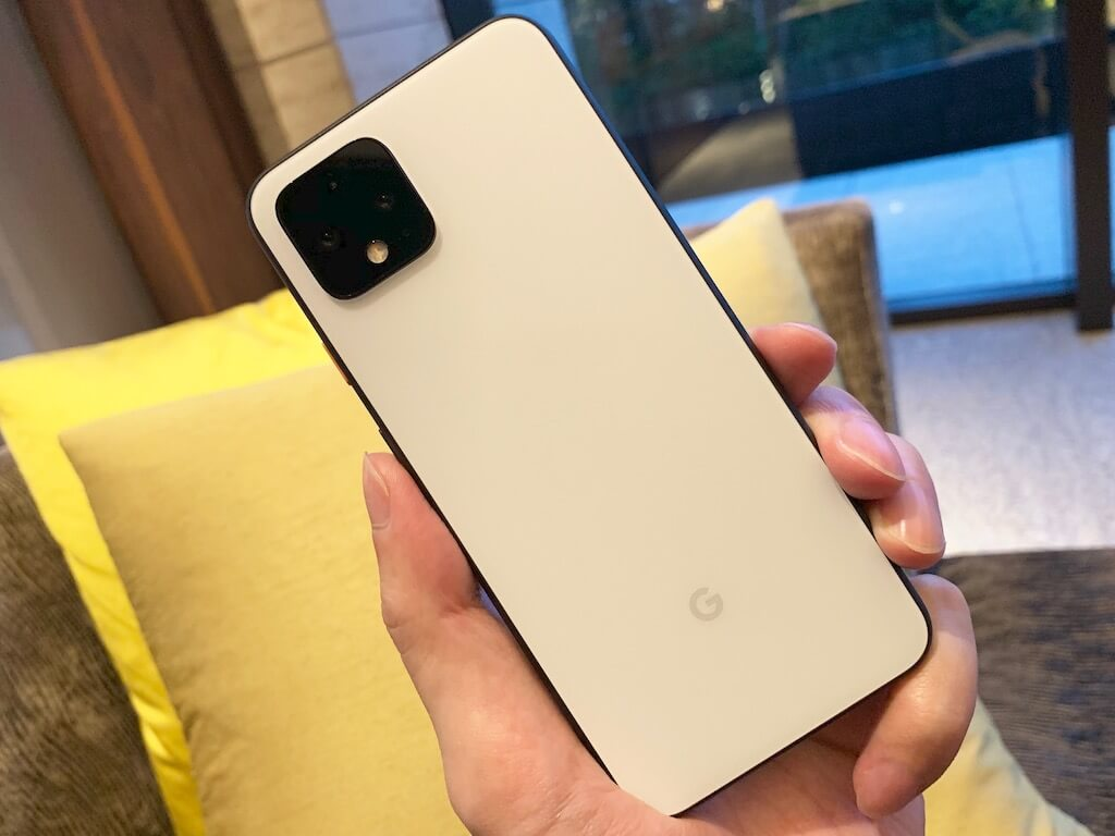 Google Pixel 4 デザイン 背面