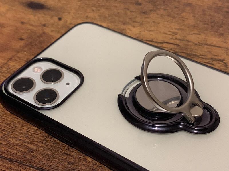 iPhone 11 pro スマホリング