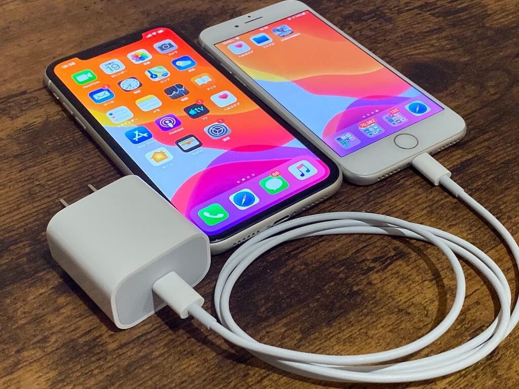 新型iPhone SE 11 バッテリー 比較