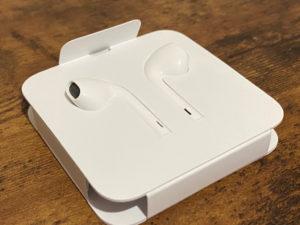 iPhone SE(第2世代) 付属のイヤホン
