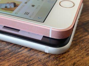 新iPhone SE 旧iPhone SE 角の比較