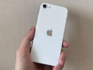 iPhone SE(第2世代) 持ちやすさ