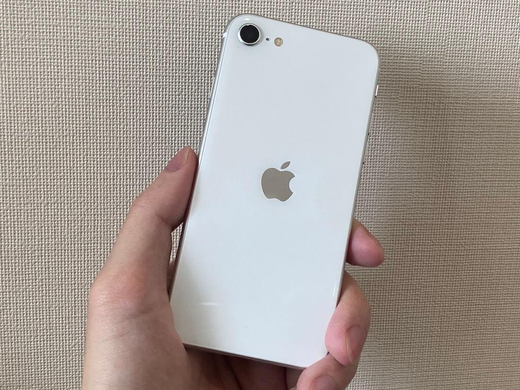 iPhone SE(第2世代) 持ちやすさ レビュー