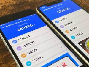 iPhone SE(第2世代) antutuベンチマーク