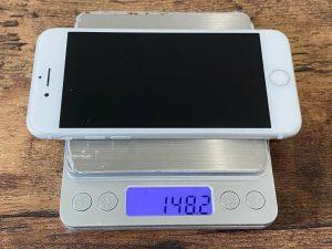 iPhone8 12pro 重さ 比較