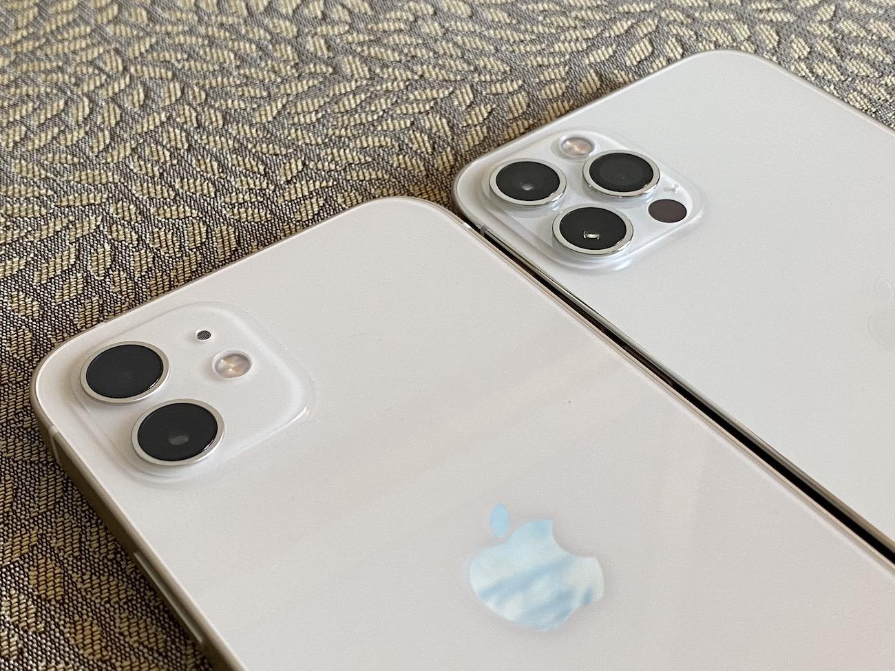 iPhone 12 12pro カメラ 比較
