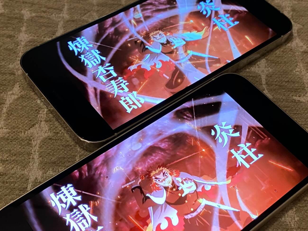iPhone 12 12pro 画質 比較