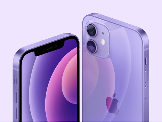 iPhone12miniパープル